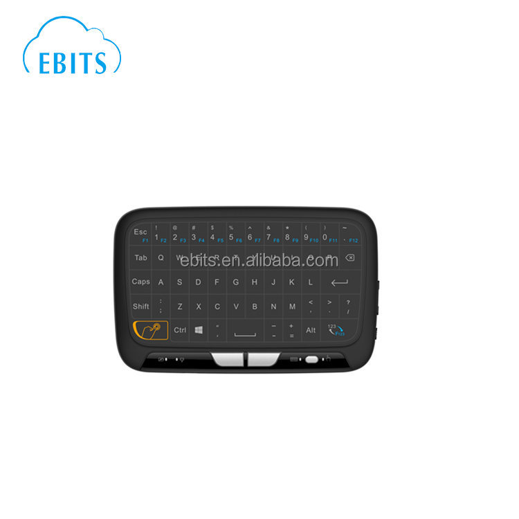 Hot selling multi touchpad 2.4g wireless mouse keyboard