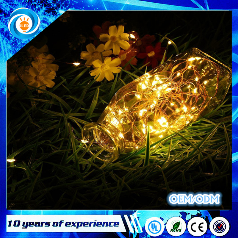 Christmas Party Outdoor Patio Deck Magical Decor Bedroom Waterproof Solar Powered Fairy LED Starry String Lights for DIY