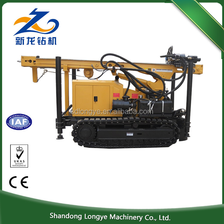 Economical Hot Exported 213m Portable Small Deep Water Well air compressor for drilling rig