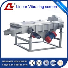 2017 new type Linear vibrating screen separator for seed grading