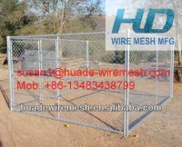 Hot dipped galvanized safety 1.8x1.2m Dog run fence panels