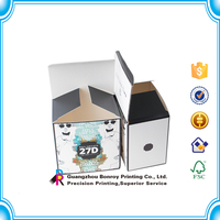 Laminated full color paper sleeve soap paper box