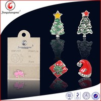 3D glitter decoration nail art Christmas rhinestone
