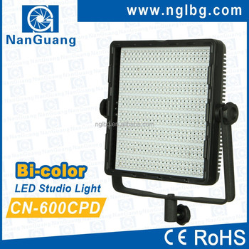 Professional Nanguang CN-600CPD LED Studio Lighting Equipment, perfect for Photo and Video