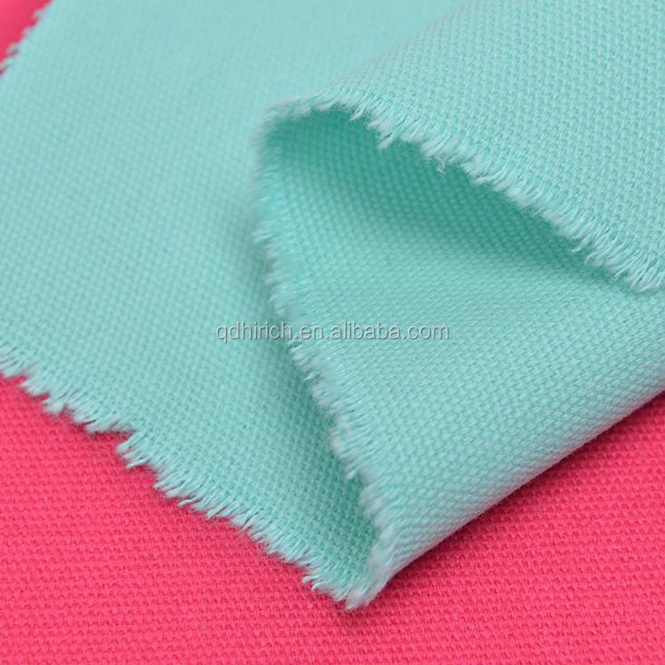 Hot sale 100% cotton plain dyed 30*30s plain weave fabrics for garment