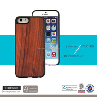 Factory Wholesale case mobile wood mobile phone holder for iphone 6 6S rosewood for iphone cover