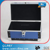 Cheaper blue portable aluminum briefcase tool box