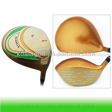Decorative golf club,OEM golf driver heads