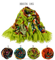 HD376 185 beautiful muslim scarf hijab fabric factory in china shawl and scarves European style supplier alibaba china