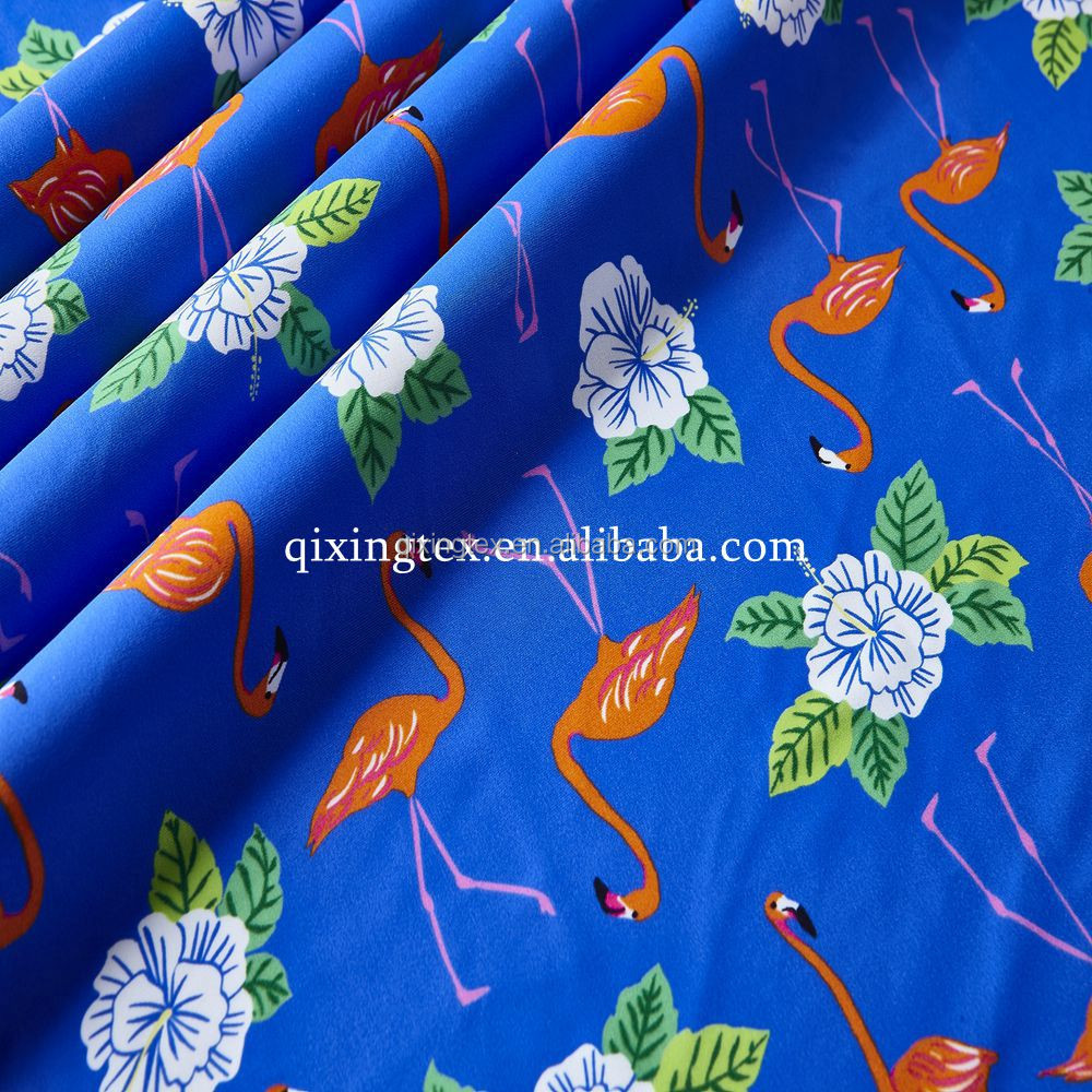 beautiful floral prints nylon spandex swimwear fabric for swimsuits