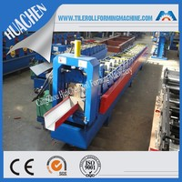 K style water gutter/downspouts cold roll forming machine made in China