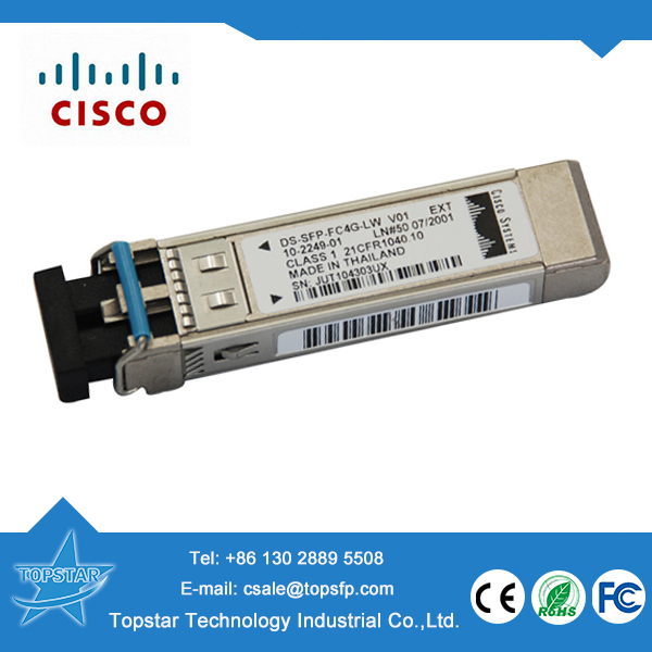 Cisco SFP transceivers DS-SFP-FC4G-SW 4G SW optical module fiber transceiver receiver