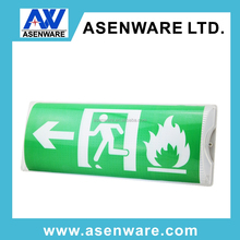 acrylic and led material exit sign emergency lighting