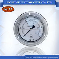 High performance sillicon oil-filled pressure digital Electric Contact Pressure Gauge