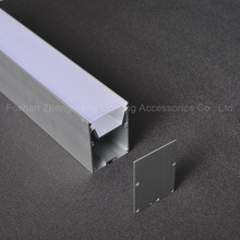 Two floor Linear pendant light /Office linear aluminumlights/recessed linear alu led profile