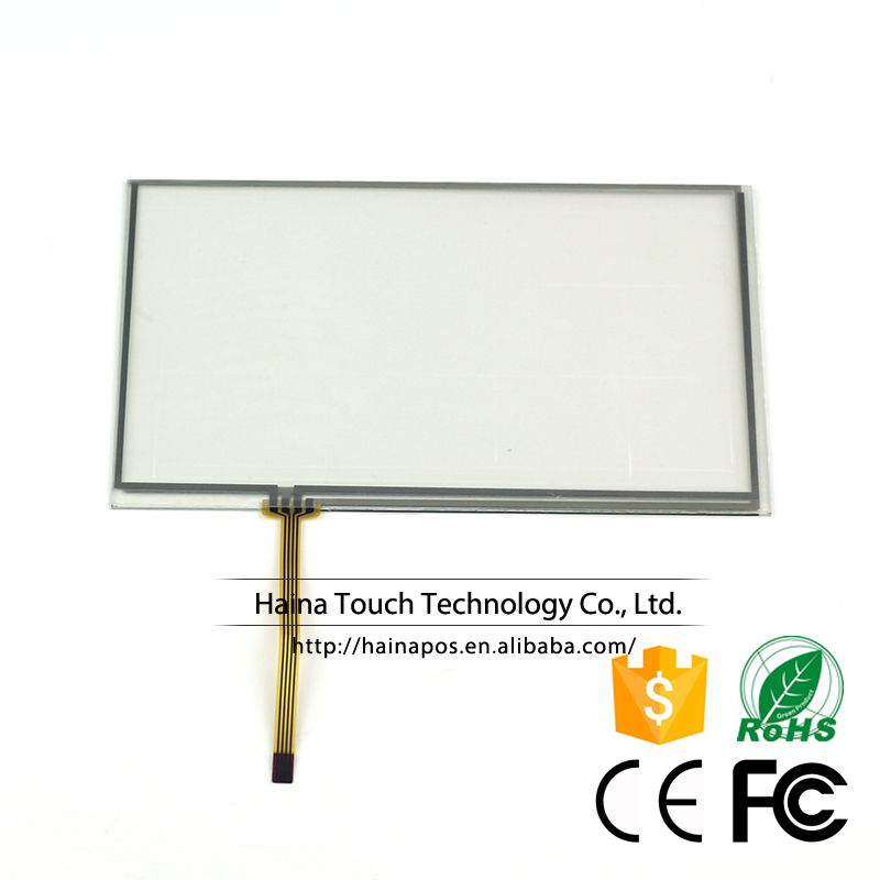 7 inch 4 Wire Resistive Touch Screen Panel Digitizer For GPS Car Pocket TV
