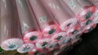 embossing pink color soft pvc sheet in roll