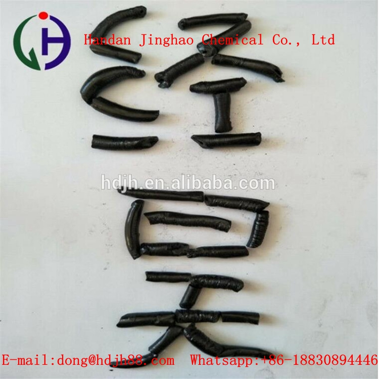 Stable performance modified coal tar pitch pencil shape pitch special used in electrolytic aluminum