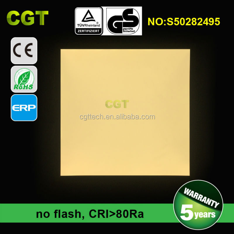 slim led panel light 6060 6262 36W 40W 48W 54W TUV CE Rohs 5years warranty