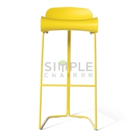 hot sale modern kitchen plastic bar stool