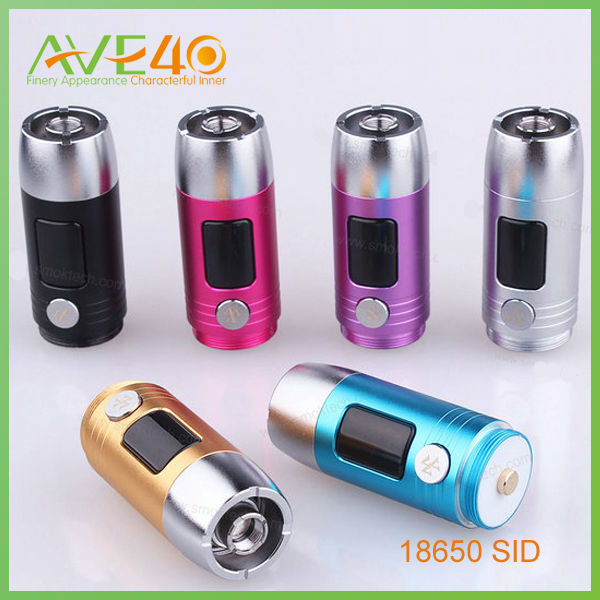2014 Genuine electronic cigarettes vv/vw smok sid Electronic Cigarette Battery smok zmax/zmax mini