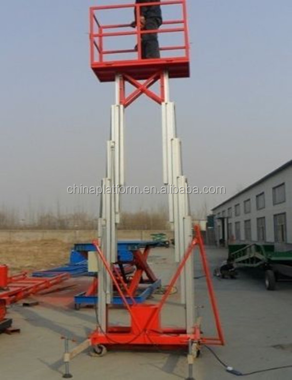 6 Meter aluminum motorcycle lift for furniture