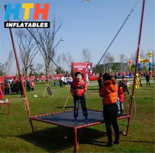 Steel material Round Single jumping bungee equipment for kids and adults
