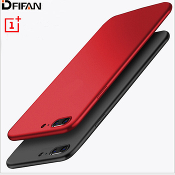 DFIFAN New items for one plus5 case, hot selling TPU matte black phone shell cover for one plus 5