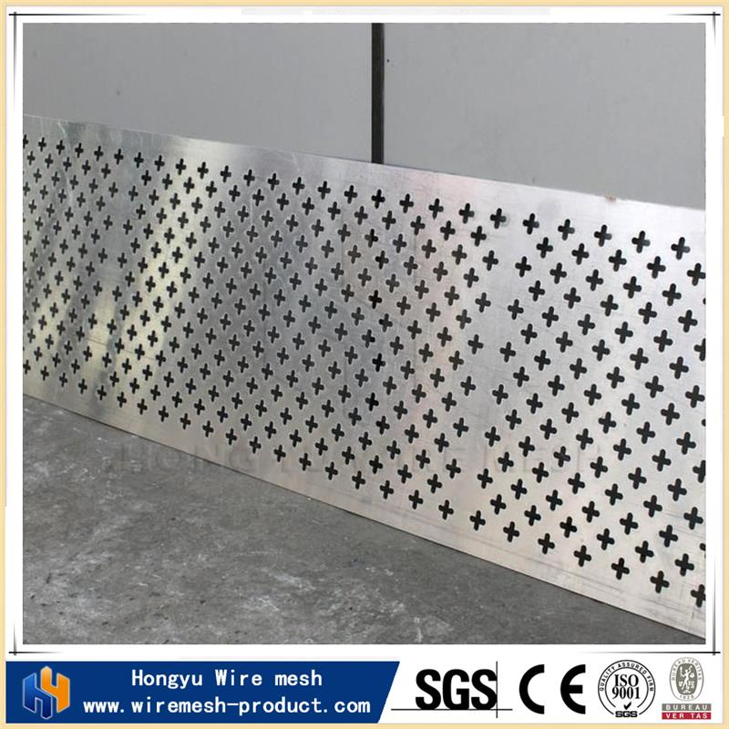 perforated plastic panels hexagonal speaker grill for wholesales