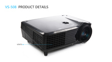 wholesale home theater full hd 3d projector, lcd/led/dlp projector ,mini projector with High resolution and 3000lumens