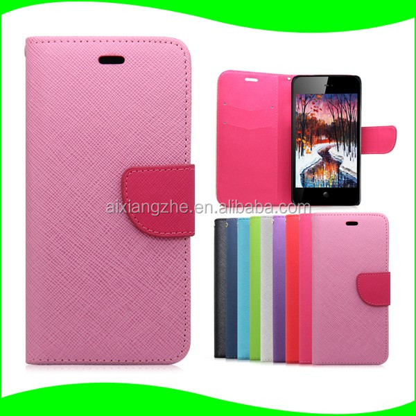 Silicone Candy Wallet Flip Leather Mobile Phone Case for Nokia 301/Asha 300/Asha 305 Case