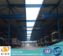 Cheap safe long span waterproof earthquake prefabricated light steel structure warehouse steel factory with OEM service