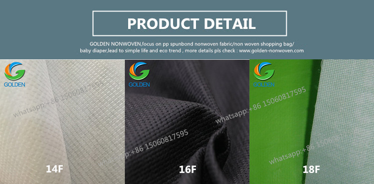 Bags Material Polypropylene 100Gsm Nonwoven Stitch Fabric Polyester Stitch Bond Non Woven Fabric