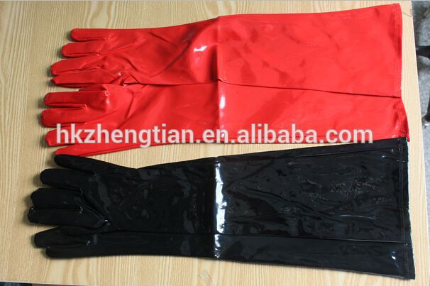 Fancy dress hen party instyles zhengtian instyles Halloween sexy adult party latex rend and black gloves