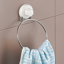 online shopping suction cup small towel holder bathroom towel ring