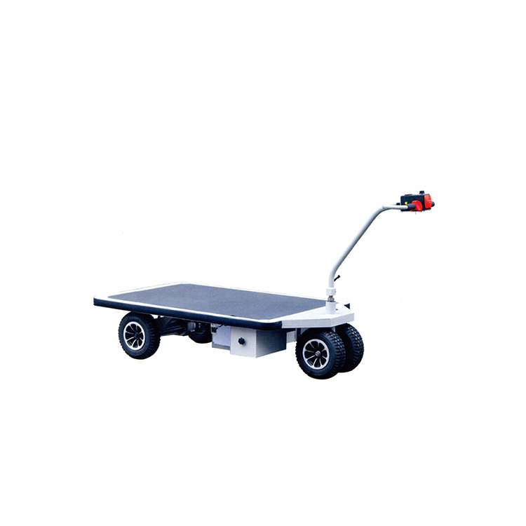 Fully powered traction drive hydraulic hand truck