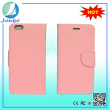 Original newest wallet leather mobile phone case with handle for iphone 6