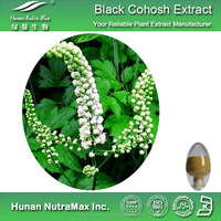 Black Cohosh Root Extract Powder Triterpene Glycosides 2.5% HPLC