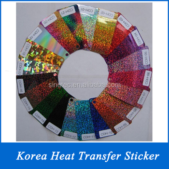 heat transfer vinyl glitter for t-shirt or clothing
