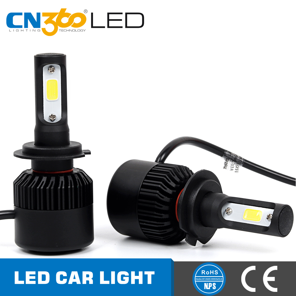 New design DC9v 32v 6000k 4000lm n2 led auto light h1 h7 h4