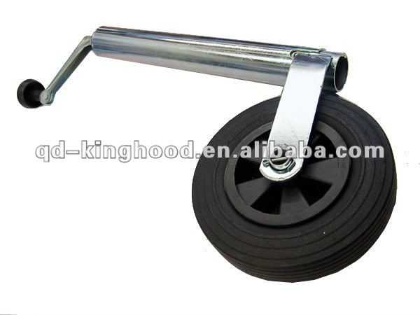"8""Replacement wheel and tyre for jockey wheels"