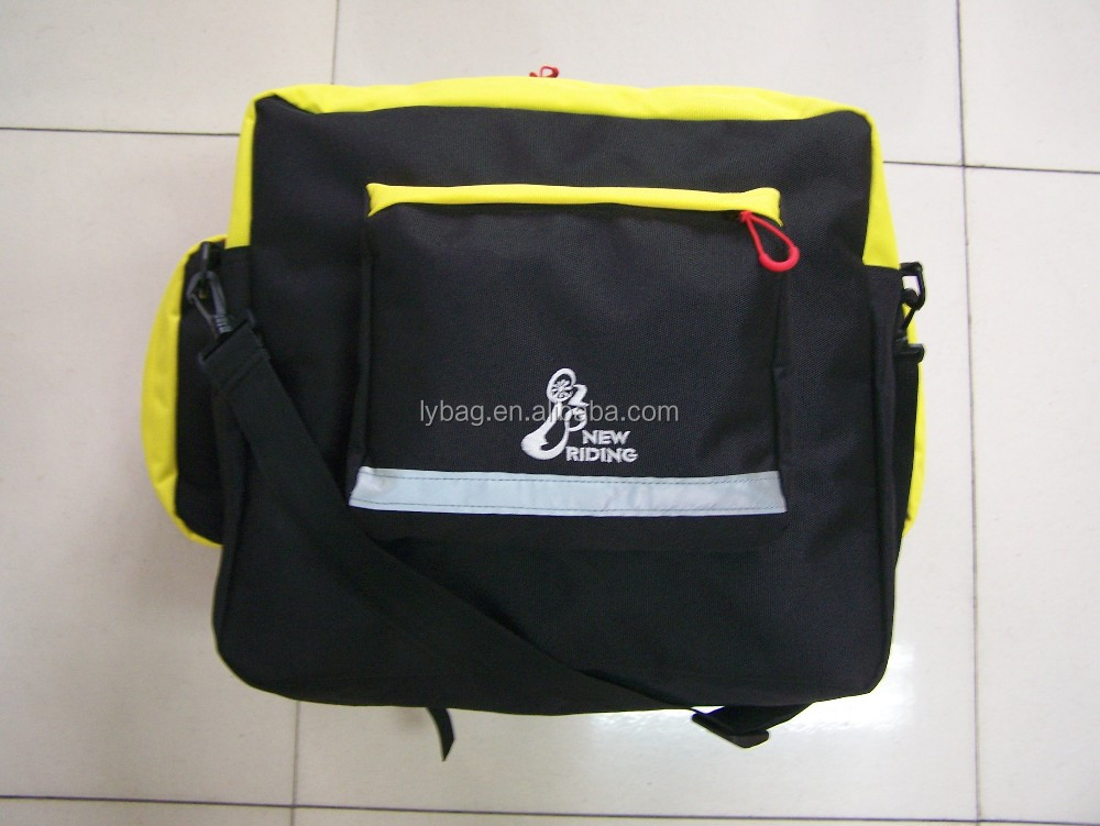 cycling saddle bag with backpack