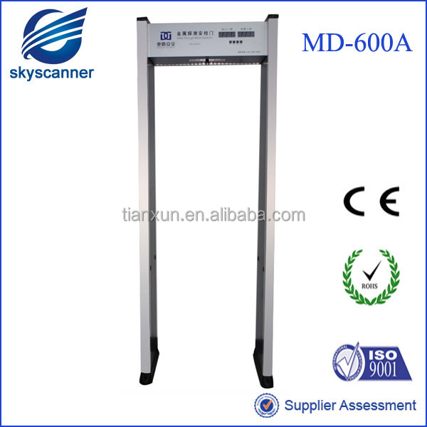 Survelliance and Security Door Frame Metal Detector Gate