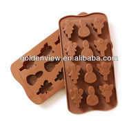 fairy princess shaped silicone chocolate candy mold mould ice cube tray pan