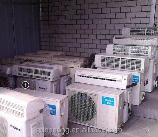 Aux used air conditioner for sale with 9000btu 12000btu 18000btu 24000btu