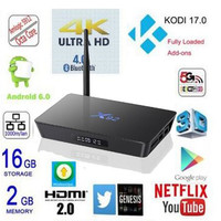 Strong Signal S912 TV BOX X92 with Antenna Amlogic S912 Octa core Android 6.0 2GB/16GB 4XUSB OTT TV BOX