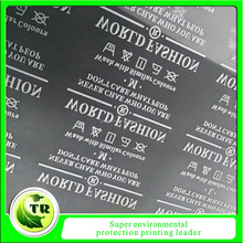 custom printed t-shirt clothing heat transfer care labels