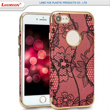 Luxury Mobile Phone Case For VIVO y53/67/v5 Lite 3 In 1 Lace Flower Printing Leather Phone Case