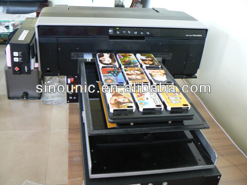 flat bed printing machine cell phone case printing machine