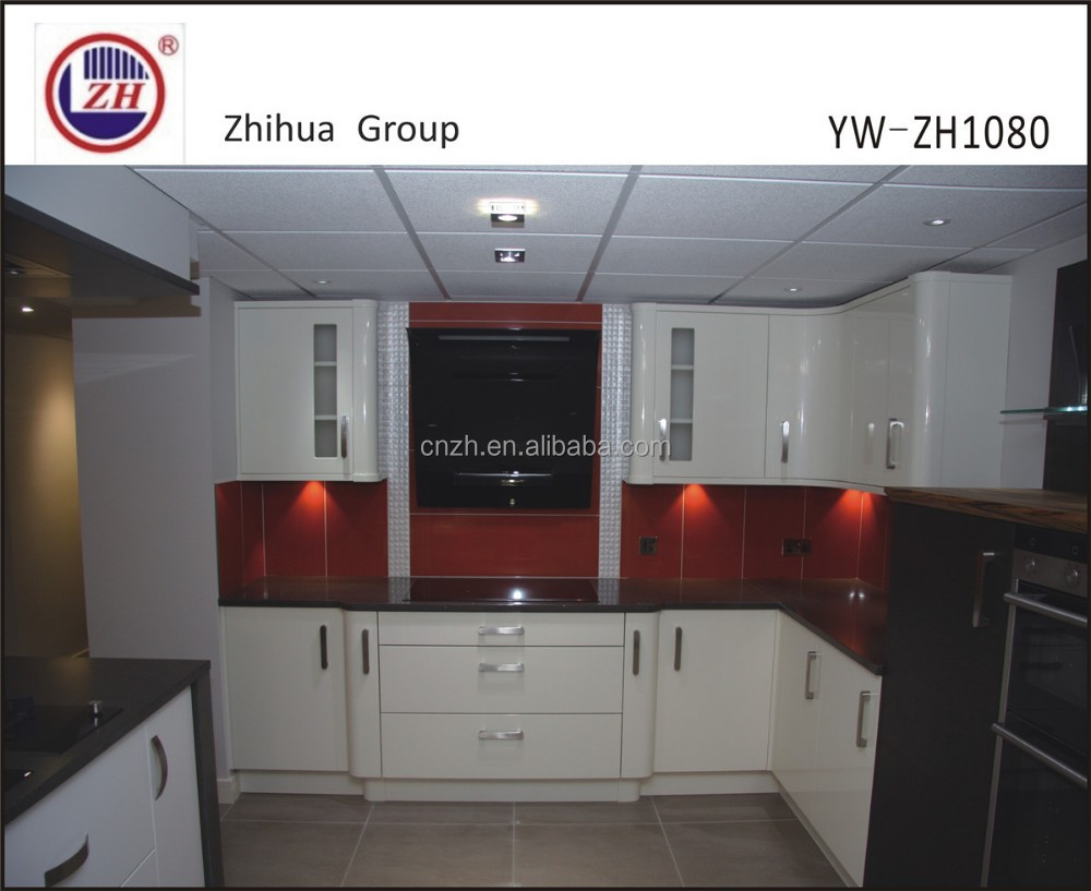 List Manufacturers Of Modern White Kitchen Buy Modern White - Lacquered kitchen cabinets